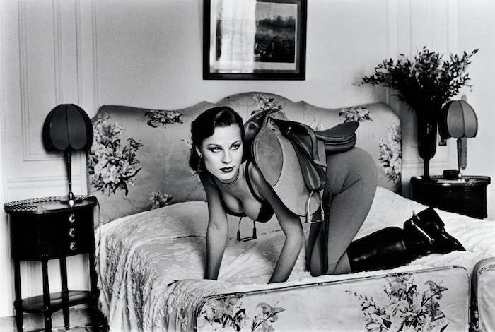 Helmut Newton Saddle I from the series Sleepless Nights Paris 1976© Helmut Newton Estate