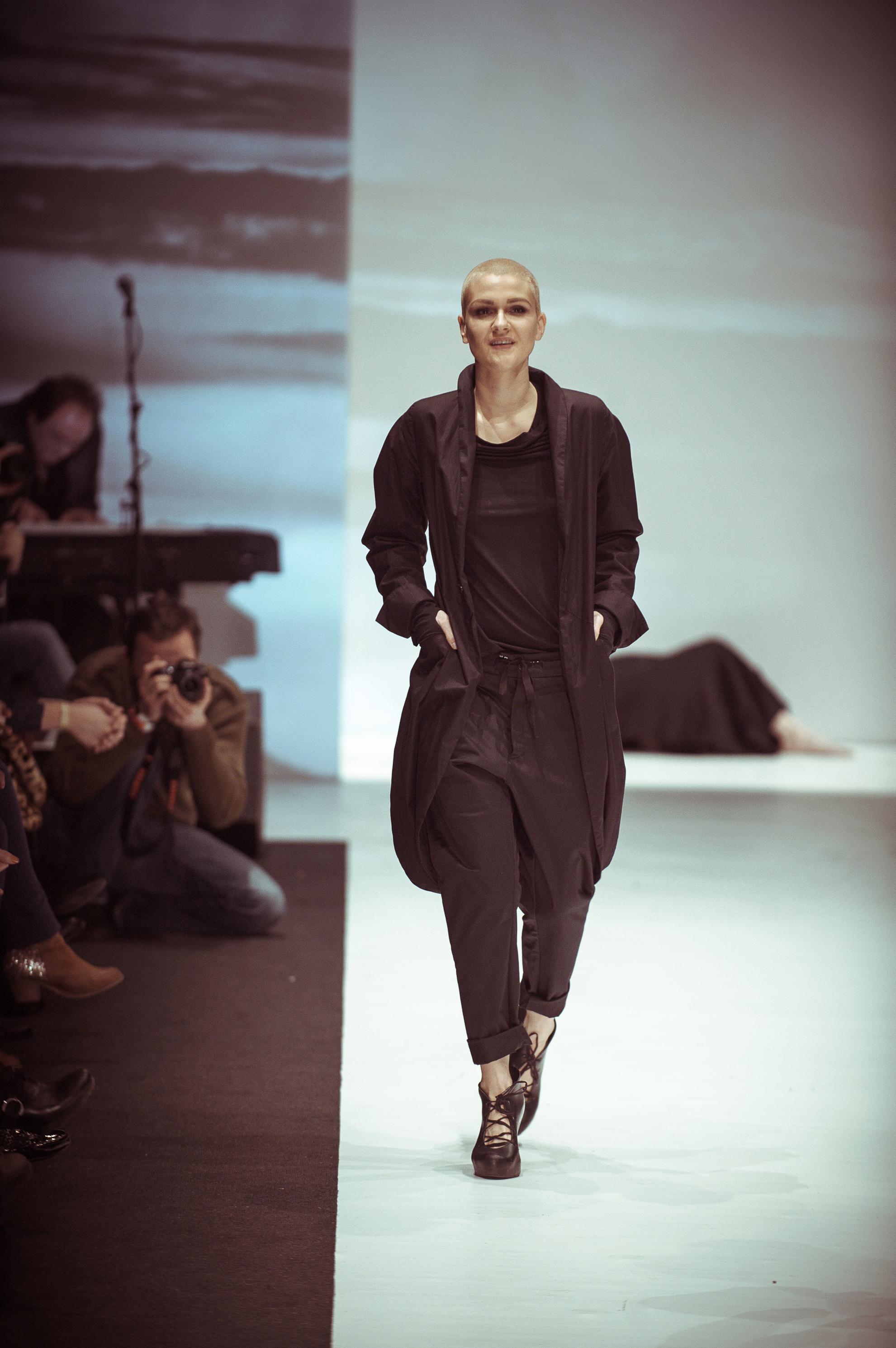 Zum Abschluss der UMASAN Show lief Gillion als Model