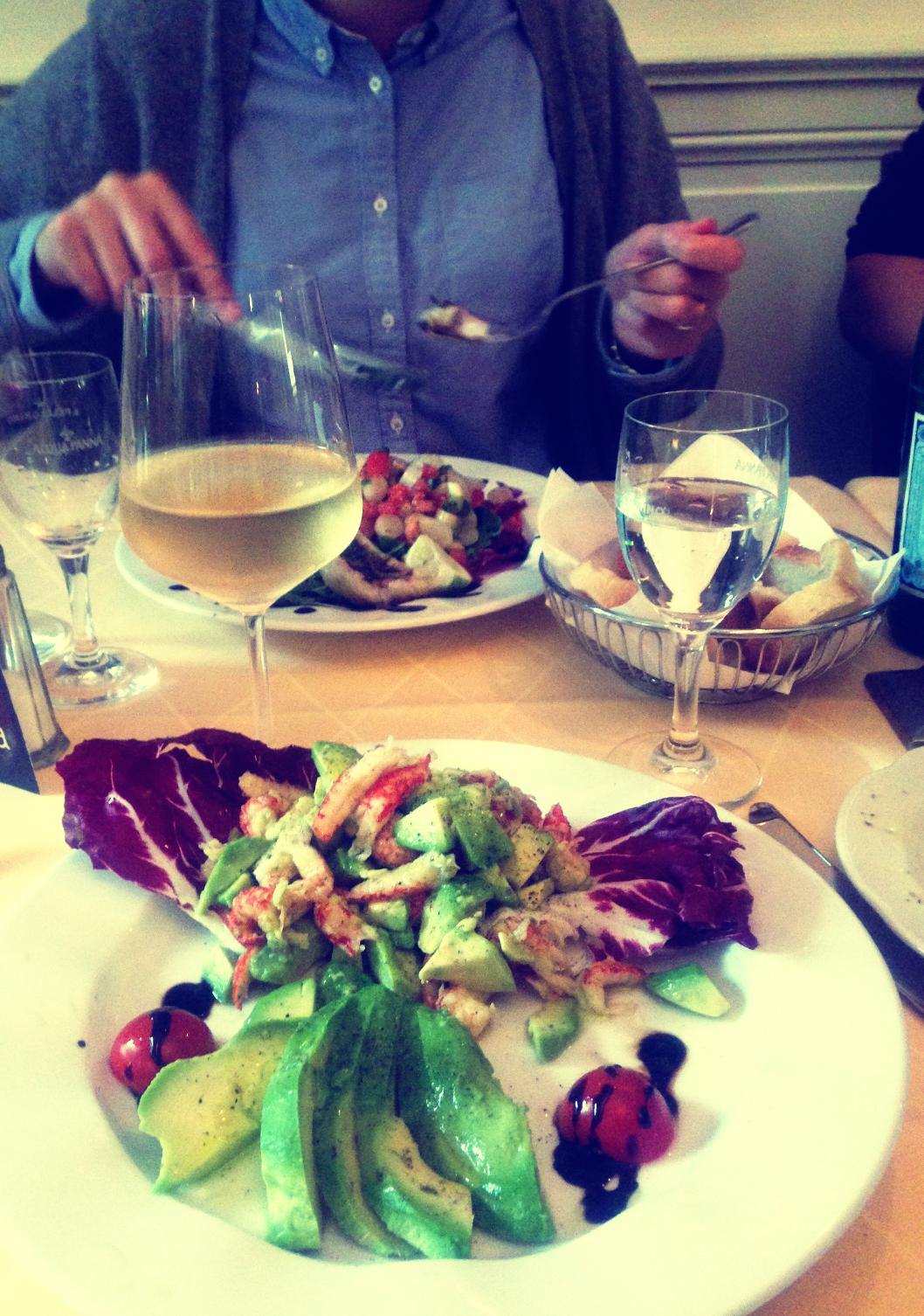 Dinner mit Familie und Freunden ist das Beste, Beste