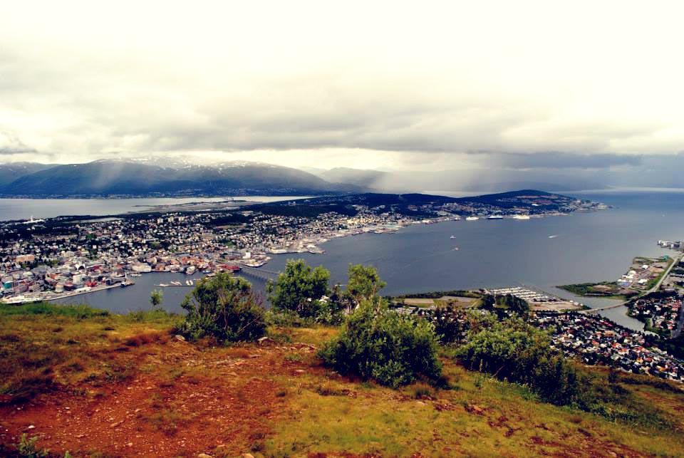 Atemberaubende Natur in Fjellheisen Tromso