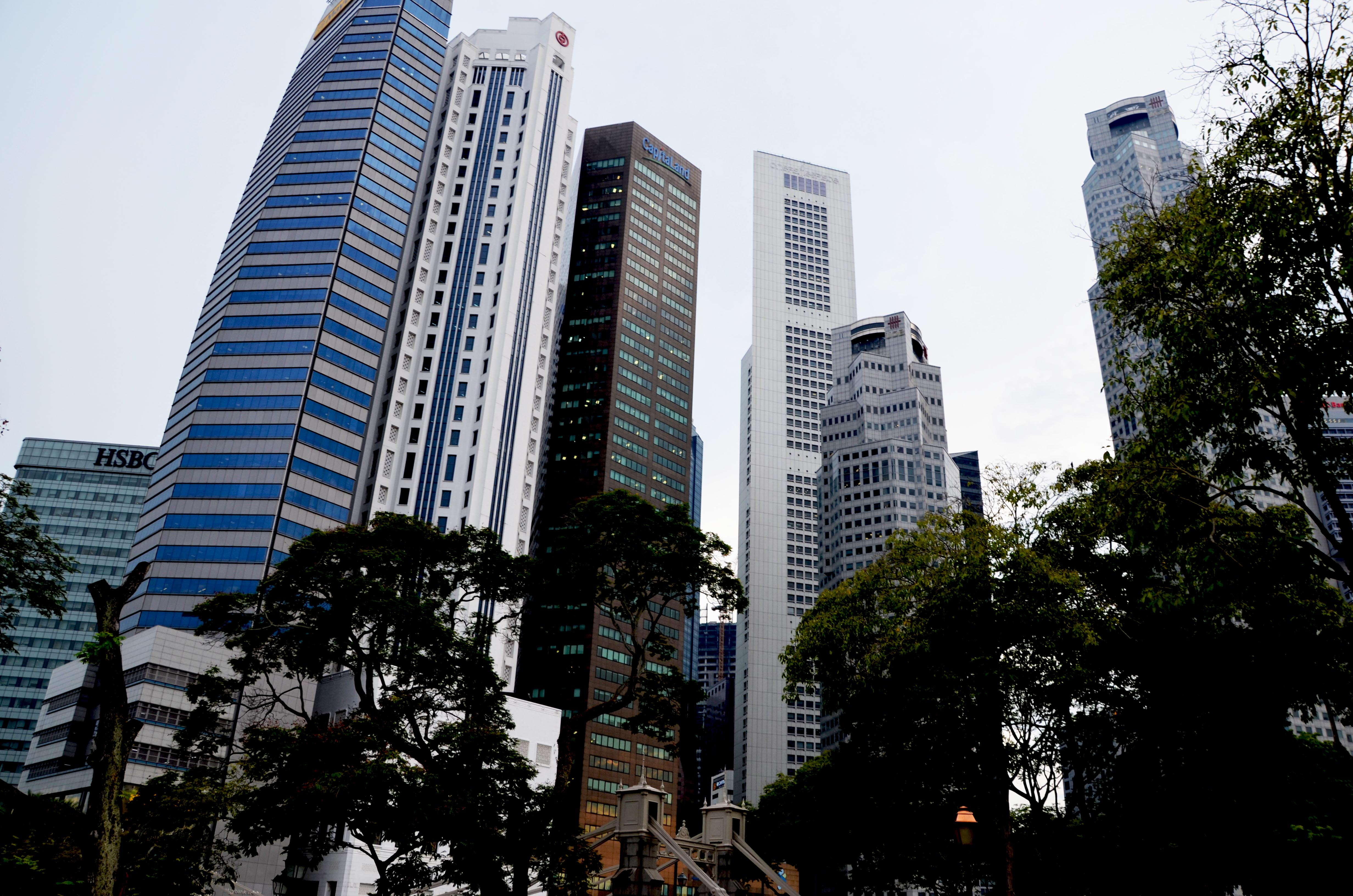 Singapurs Finanzviertel