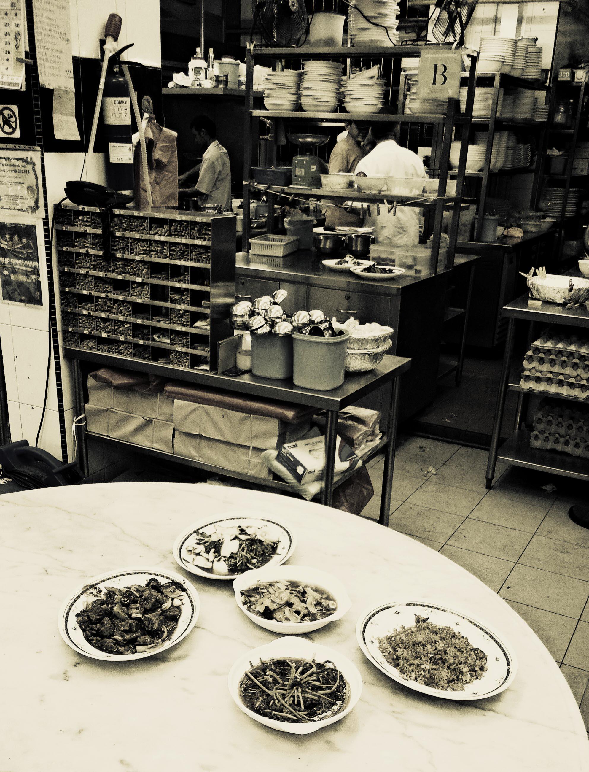Einer von unzähligen Food Courts