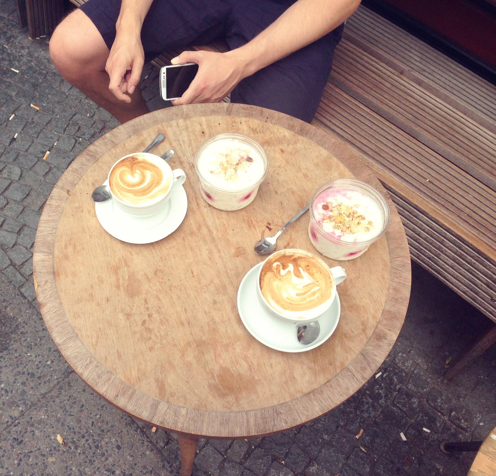 Es gibt immer die Zeit für einen Kaffee mit den Liebsten