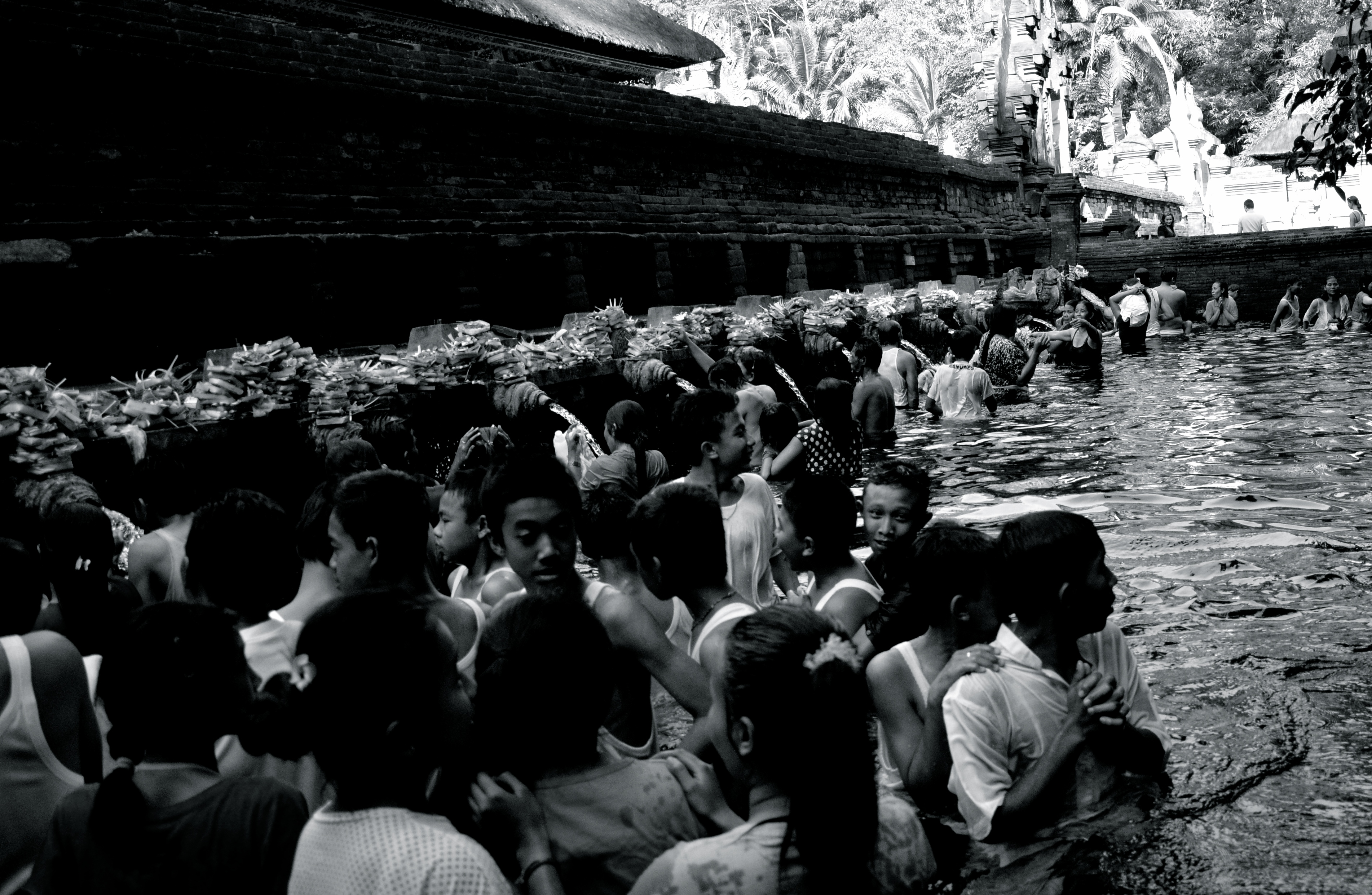Das sprudelnde Quellwasser von Pura Tirta Empul gilt als heilig