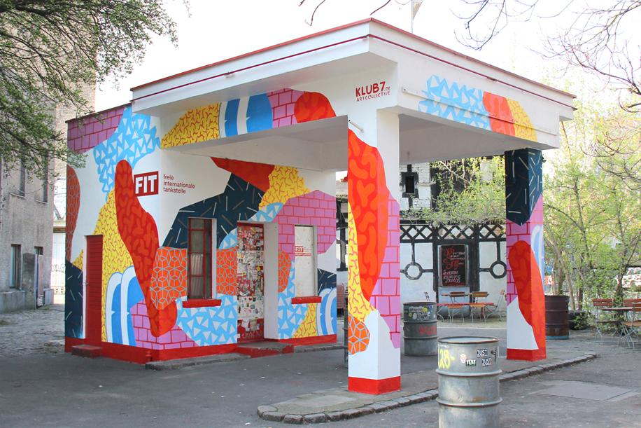 Ingwer liebt kunst behind the block von klub7 - Wandmalerei berlin ...
