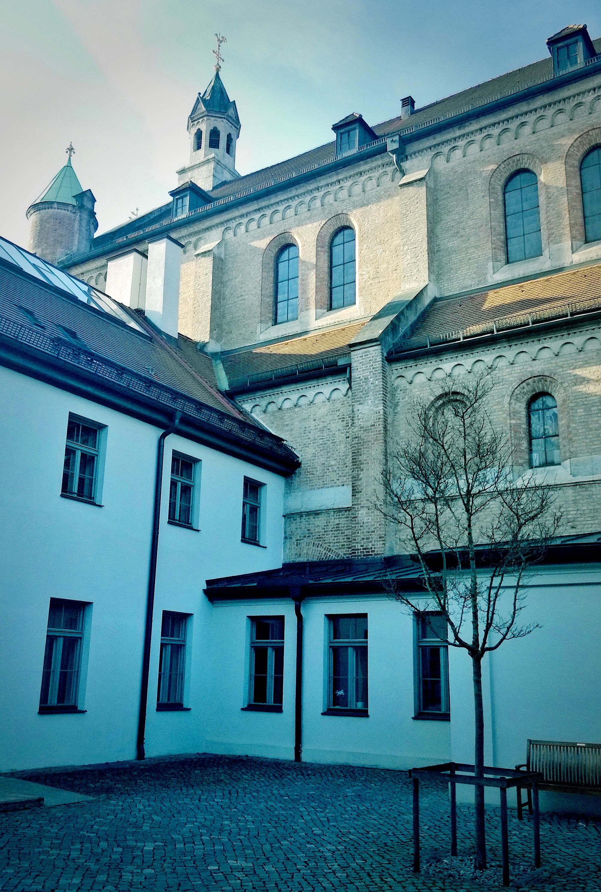 Im Kloster...