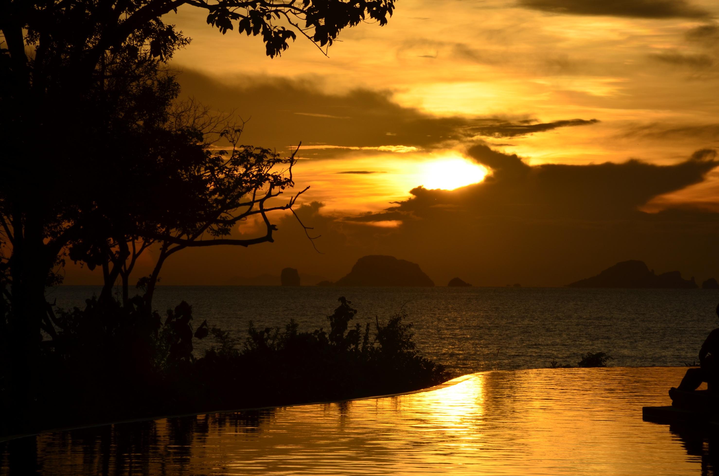 Der magischste Sonnenaufgang, den ich je gesehen habe - auf Koh Yao Yai